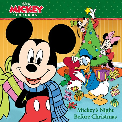 8x8 Storybook Mickey's Night Before Christmas - image 1 of 1