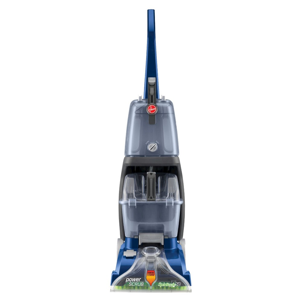 Image of Hoover Power Scrub Deluxe Carpet Cleaner, Blue