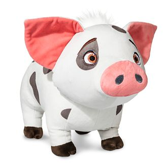 Moana Pua the Pig Pillow Buddy White - Disney®