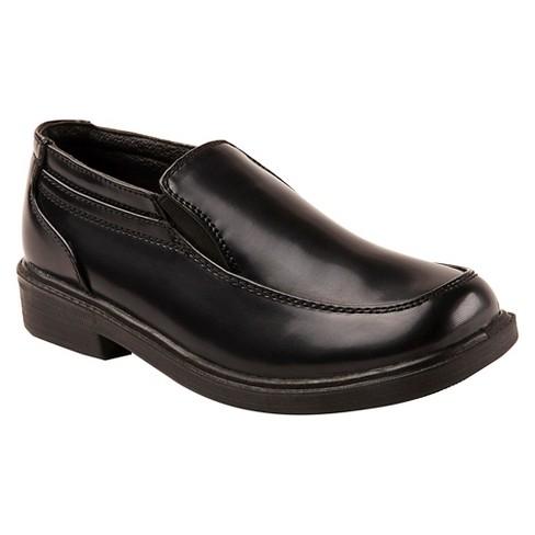 Boys' Deer Stags Brian Slip-on Loafers - Black - image 1 of 4