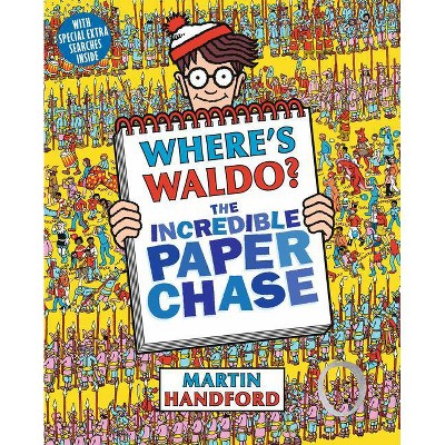 Where's Waldo? the Incredible Paper Chase - by  Martin Handford (Paperback)