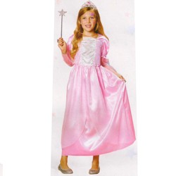Northlight Pink Princess Girl Halloween Children's Costume - Ages 4-6 Years