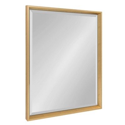 "24"" x 30"" Calter Framed Wall Mirror Gold - Kate and Laurel"