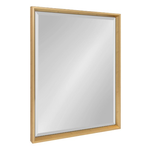 """25.5""""x37.5"""" Calter Framed Wall Mirror Gold - Kate and Laurel - image 1 of 4"""