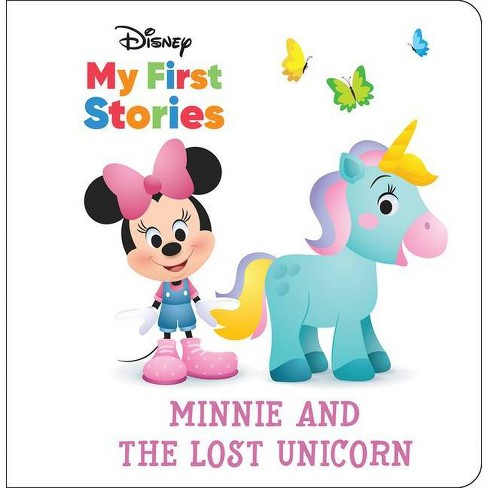 Disney My First Stories: Minnie and the Lost Unicorn - (A Book in Four Languages) by  Pi Kids (Hardcover) - image 1 of 4