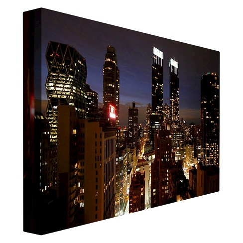City Lights\' by Ariane Moshayedi Ready to Hang Canvas Wall Art : Target