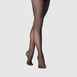 2293d4da4 Women s Sheer Net Tights - A New Day™ Black   Target