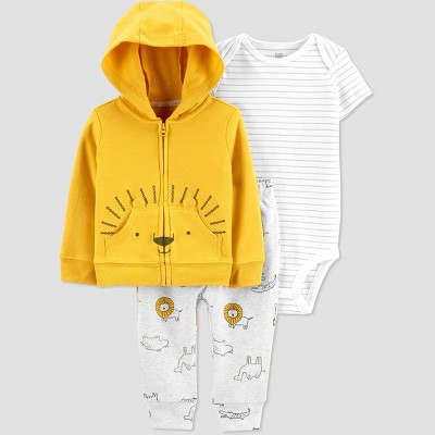 Baby Boys' Lion Top & Bottom Set - Just One You® made by carter's Gold 9M
