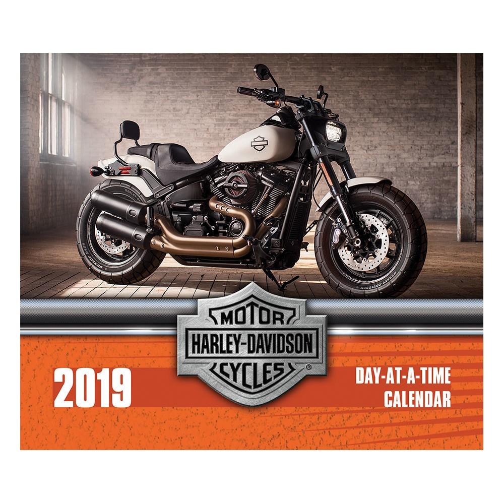 2019 Tented Desktop Calendar Harley-Davidson, Multi-Colored
