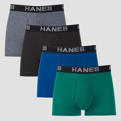 Hanes Premium Men's Total Support Pouch 3+1 Bonus Pack Trunks