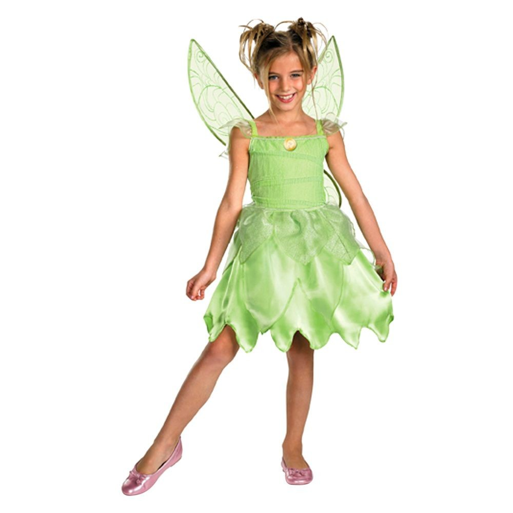 Kids' Tink and the Fairy Rescue Tinkerbell Girls' Classic Costume S(4-6)