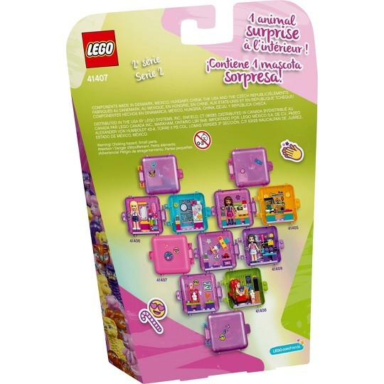 LEGO Friends Olivia's Play Cube 41407 Building Kit image number null