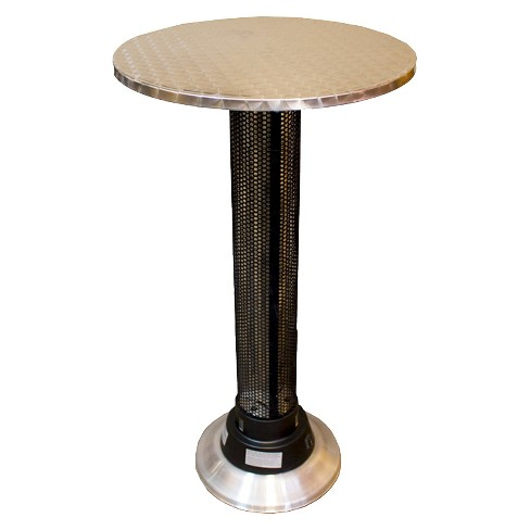 Pub Table With Built In Electric Heater - image 1 of 1