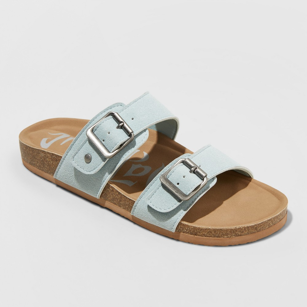 Women's Mad Love Keava Footbed Sandal - Blue 10