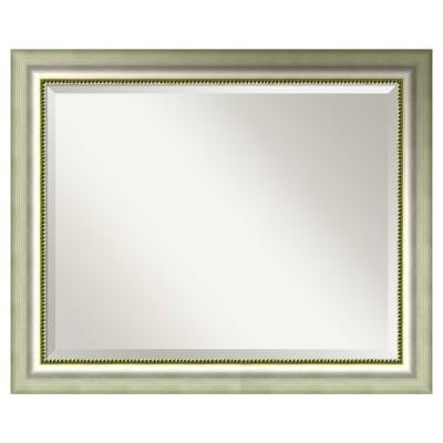 "33"" x 27"" Vegas Silver Framed Wall Mirror - Amanti Art"