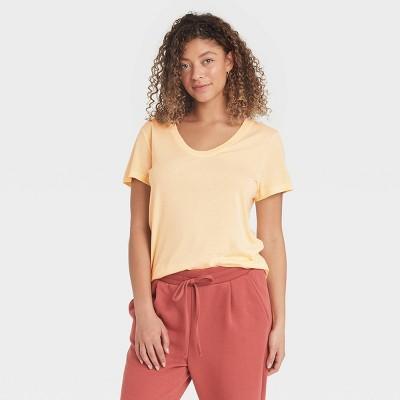 Women's Short Sleeve Scoop Neck T-Shirt - A New Day™
