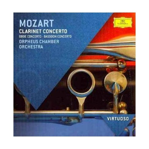 Orpheus Chamber Orchestra - Virtuoso: Mozart- Clarinet Concerto/Oboe Concerto/Bassoon Concerto (CD) - image 1 of 1