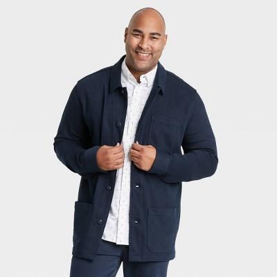 Men's Regular Fit Knit Chore Shirt Jacket - Goodfellow & Co™
