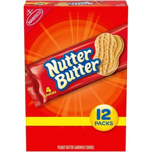 Nutter Butter Peanut Butter Sandwich Cookies - 22.8oz / 12ct - image 1 of 4