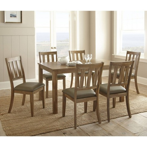 7pc Ander Dining Set Washed Pine - Steve Silver - image 1 of 4