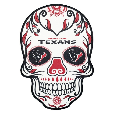 NFL Houston Texans Large Outdoor Skull Decal - image 1 of 1