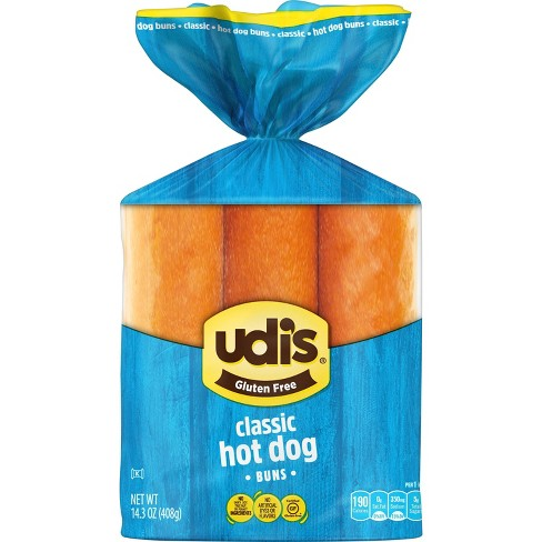 Udi's Gluten Free Hotdog Buns - 14.3oz - image 1 of 1