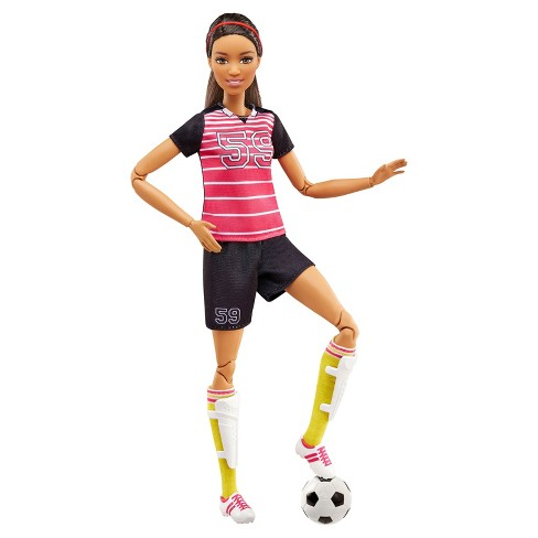 Barbie Made To Move Soccer Player Doll - image 1 of 4