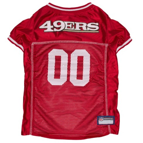f024f5650 NFL Pets First Mesh Pet Football Jersey - San Francisco 49ers   Target