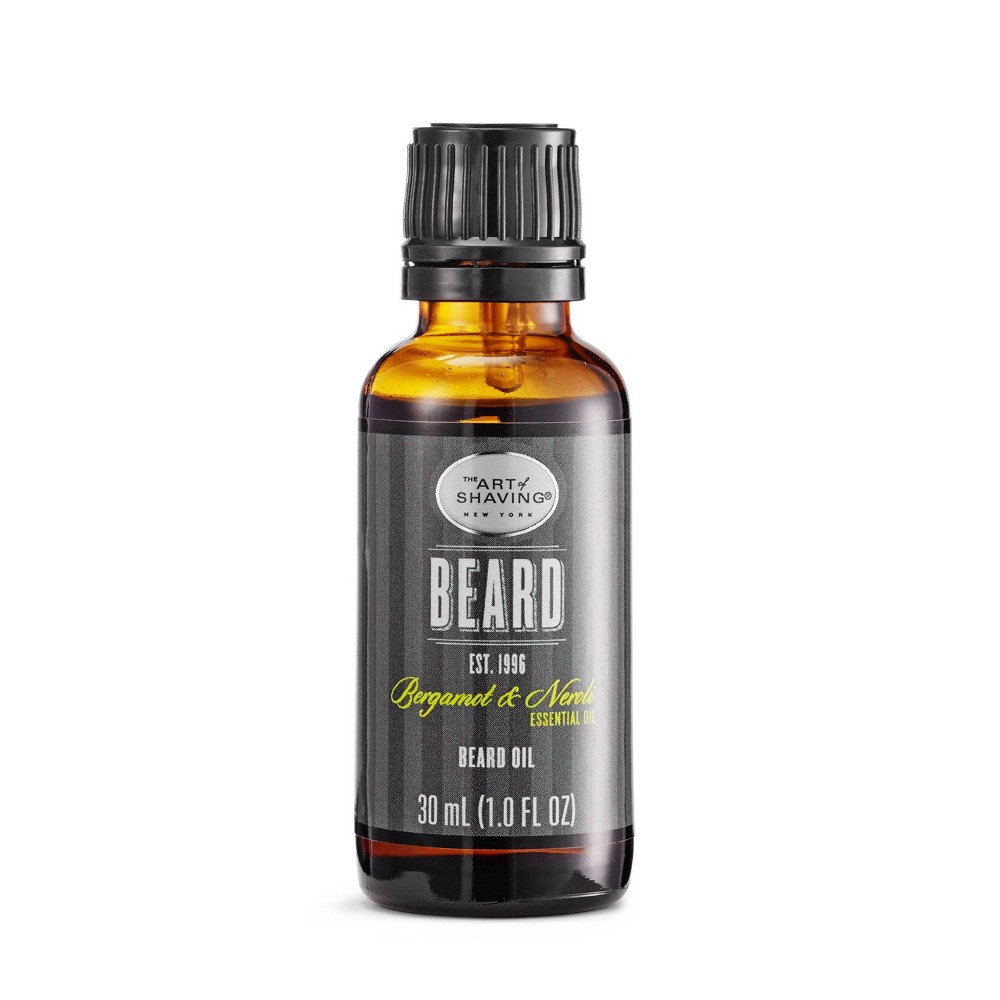 Image of The Art Of Shaving Men's Bergamot Neroli Beard Oil - 1oz