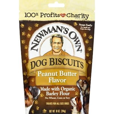 Newman's Own Peanut Butter Biscuits Dog Treat - 10oz