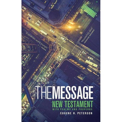 Message Personal New Testament with Psalms and Proverbs-MS Numbered - (Paperback) - image 1 of 1