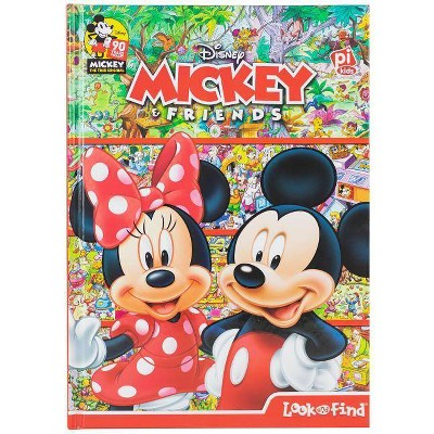 Disney Mickey & Friends : Look and Find -  (Look and Find) by Edited (Hardcover)