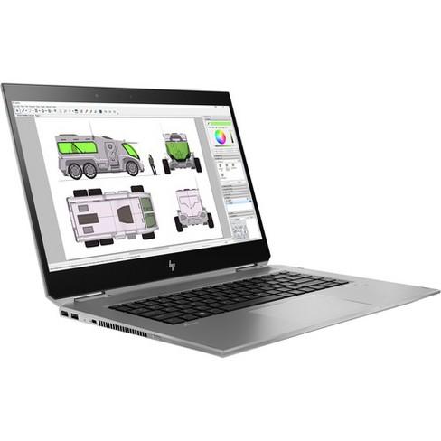 "HP ZBook Studio G5 15.6"" Mobile Workstation - Core i7 i7-8850H - 16 GB RAM - 512 GB SSD - Windows 10 Pro - NVIDIA Quadro P2000 with 4 GB - image 1 of 4"