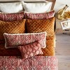 Oblong Velvet Chenille Throw Pillow Rose - Threshold™ - image 4 of 4