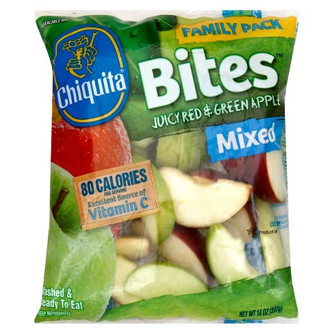 Chiquita Mixed Juicy Red & Green Apple Bites- 14oz - Family Pack - image 1 of 1