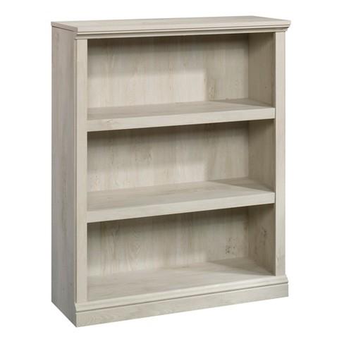 """43.78"""" Decorative Bookshelf Brown 3 Number Of Shelves Chestnut - Sauder - image 1 of 5"""