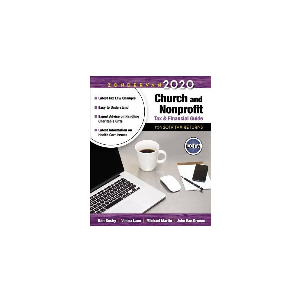 Zondervan 2020 Church and Nonprofit Tax and Financial Guide - by Dan Busby (Paperback)