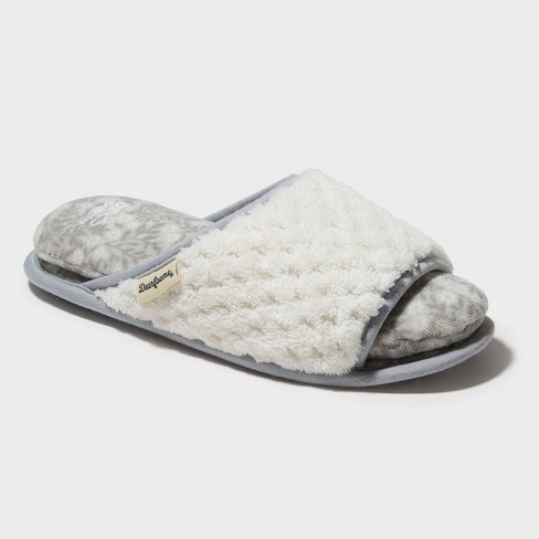 Women's Dearfoams Cloud Step Slide Slippers - image 1 of 4