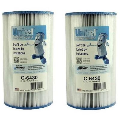 2 New Unicel C-6430 Hot Springs Watkins Spa Filter Replacement Cartridges C6430