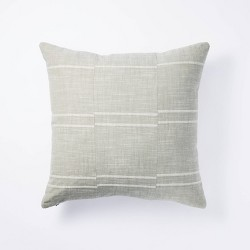 Woven Textured Stripe Pillow - Threshold™ designed with Studio McGee