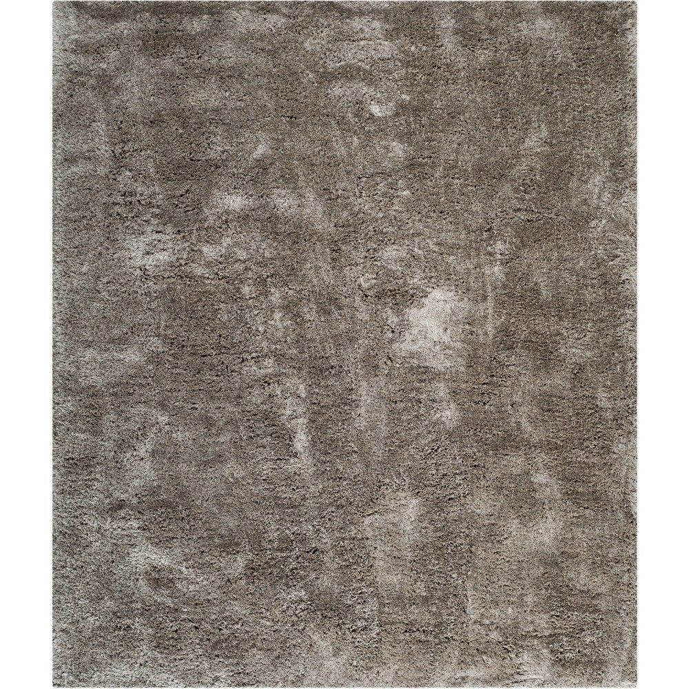 10'X14' Solid Tufted Area Rug Light Gray - Safavieh
