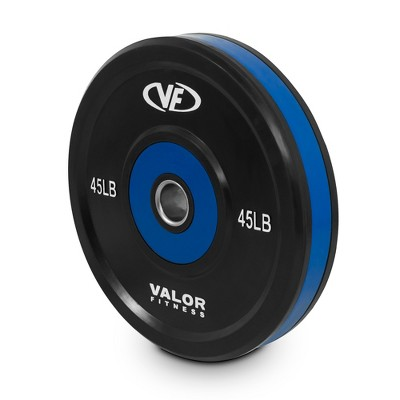 Valor Fitness BPP-45 45lb Bumper Plate Pro