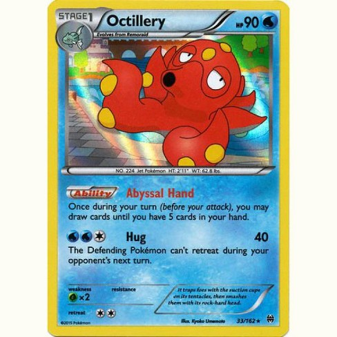 Pokemon X and Y BREAKthrough Rare Holo Octillery #33 - image 1 of 1