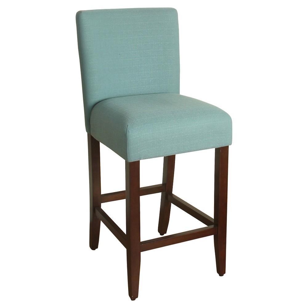 29 Upholstered Barstool Aqua - HomePop was $139.99 now $104.99 (25.0% off)