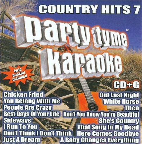 Party Tyme Karaoke: Country Hits 7 - image 1 of 1