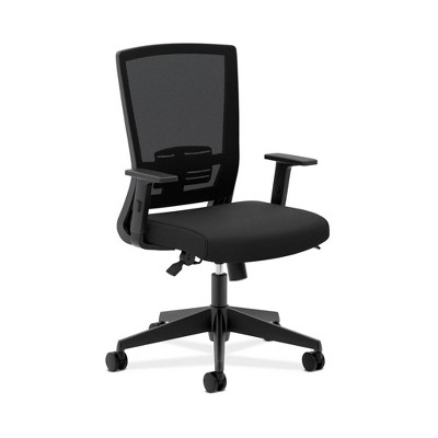 Entire Mesh High Back Office Chair with Adjustable Arms Black - HON