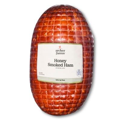 Honey Smoked Ham - Deli Fresh Sliced - price per lb - Archer Farms™