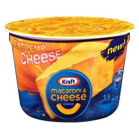 Kraft Macaroni & Cheese Xtreme Cheese Cup 2 oz - image 1 of 1