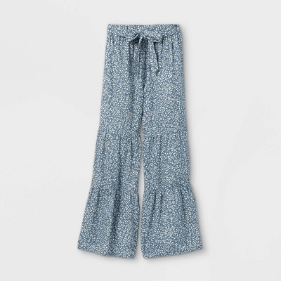 Girls' Smocked Wide Leg Pants - art class™