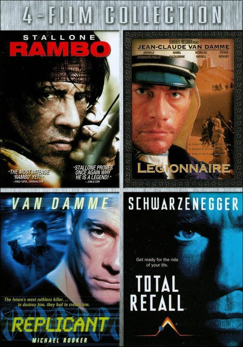 Rambo/Legionnaire/Replicant/Total Recall [3 Discs] (DVD) - image 1 of 1